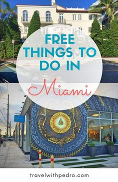 Find out here some cool things to do in Miami for free. - Travel Miami - Ideas of Travel in Miami Usa Travel Guide, Travel Usa, Budget Travel, Travel Tips, Italy Travel, Travel Ideas, Globe Travel, Free Travel, Canada Travel