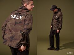 OBEY FALL 16 // O.B.E.Y. HOODED COACHES JACKET