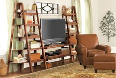 Entertainment Center...kinda the look I'm going for...got the two on the side ..need a good center piece...