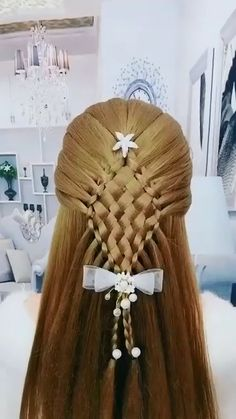 Easy Hairstyle Video, Ponytail Hairstyles Tutorial, Long Hair Video, Easy Hairstyles For Long Hair, Creative Hairstyles, Up Hairstyles, Hairstyle Tutorials, Hair Tutorials For Medium Hair, Hair Upstyles