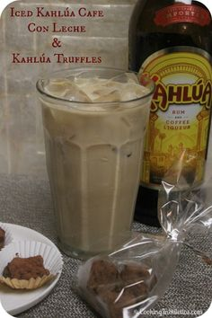 Kahlúa Truffles – The Perfect Hostess Gift and An Iced Kahlúa Café Con Leche Recipe    http://cookinginstilettos.com/kahlua-truffles-the-perfect-hostess-gift-and-an-iced-kahlua-cafe-con-leche-recipe/  #DIY #Gifts #Chocolate #Cocktail #Coffee  #KahluaHoliday #PinItToWinIt