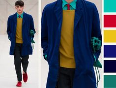 Painterly Palettes at Burberry Prorsum | The Cutting Class