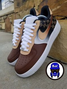 New (never used), Any adult/ big kids size you want done! Nike Shoes Blue, Cute Nike Shoes, Nike Shoes Air Force, Nike Fashion, Sneakers Fashion, Gucci Shoes Sneakers, Jordans Sneakers, Men Fashion, Jordan Shoes Girls