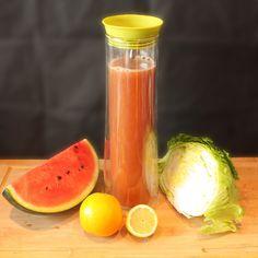 Summer Feeling  erfrischend an heißen Sommertagen  #wassermelone #zitrone #orange #eisberg #gesund #lecker #juiceporn