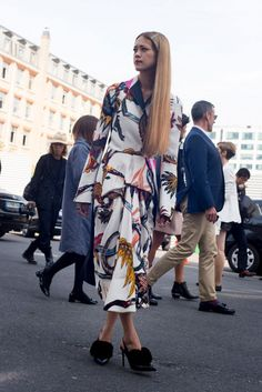 Street Style, Paris: 31 photos from the first day outside Spring 2014 fashion week