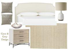 Park Interiors: Monochromatic Bedroom