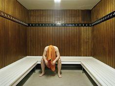 """Sauna"" by Geir Moseid."
