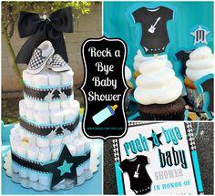rockstar baby shower - Google Search
