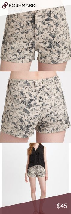 J Brand Floral Rose Boy Shorts Like new condition! Size 25. Super cute rose floral design. Retail $72 - Sold out online/in stores. J Brand Shorts