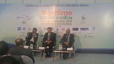Neeraj Bansal, Deputy Chairman, JNPT speaking at MNI 2016