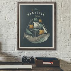 Grafika - The Wanderer (Size: L) - 8207116_