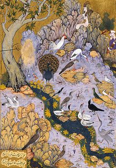 The Canticle of the Birds by Farîd-ud-Dîn 'Attâr illustrated through Persian and Eastern Islamic Art Tirage numéroté - Éditions Diane de Selliers