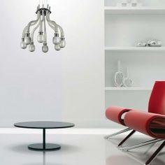 Rovescio - Murano glass chandelier. 8 arms