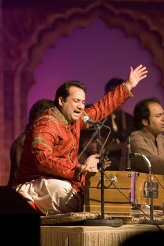 Rahat singing on high tone Rahat Fateh Ali Khan, Singing, Concert, Music, Musica, Musik, Concerts, Muziek, Music Activities