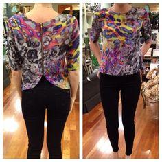 Amanda Uprichard  #leopard #colorful #print #amandauprichard #shopsmall #shopjuxtapose #Padgram