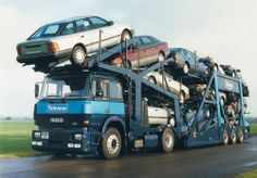 IVECO - Toleman with Ford Scorpio's