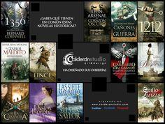 Pieza campaña otoño CalderónSTUDIO. Novela histórica. Arsenal, Daisy, Pandora, Marketing, Studio, Art, War, Novels, Libros