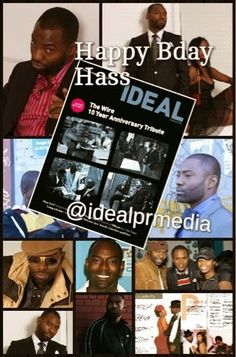 Happy Birthday Hassan Iniko Johnson (October 3rd) | IDEAL PR MEDIA #HBO #theWire #WeeBey #actor