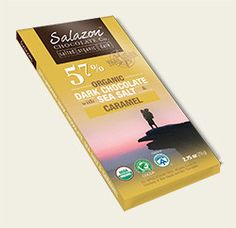 57% Organic Dark Chocolate with Sea Salt & Caramel *TRAIL SERIES*