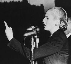 """'She' Made the Most of Every Moment"" Evita Peron www.anitathemovie.com #influencialwomen #women #beauty"
