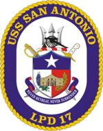 Seal of the USS San Antonio (LPD 17)