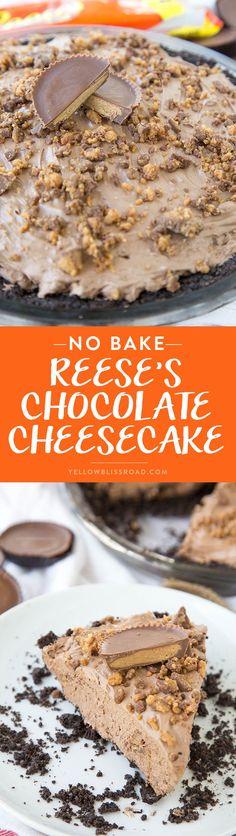 No Bake Reese's Choc