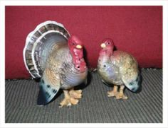 Barb's Napco Turkey Salt And Pepper Shakers