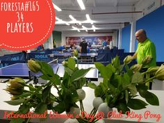 Turneul săptămânal #FORESTA etapa 165: 34 jucători #pingpong #tenisdemasa #asztalitenisz #tabletennis #tischtennis #oradea #womensday #8martie Day Club, Ladies Day, Content, Plants, Tennis, Plant, Planets