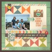A Project by LAuclair from Two Peas using our I Heart Summer collection