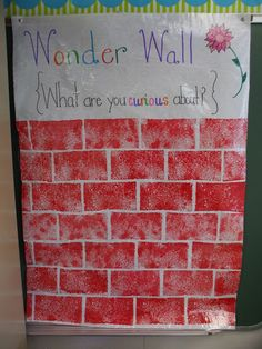 Great idea for getting kids to ask questions