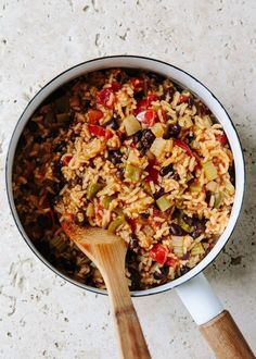 Spicy vegetarian  jambalaya