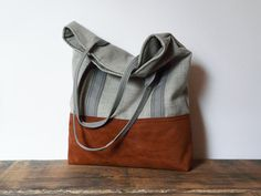 Retro Rustic Tote bag Vegan bag Shopping bag Country by SKMODELL, $64.00