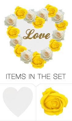 """Love roses"" by creativejenerator ❤ liked on Polyvore featuring art"
