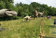 Dinosaurs Return to New Jersey at New Field Station | MommyPoppins - Things to do in New Jersey with Kids