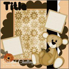 Little Scraps of Heaven Designs Design Team: Design Team Monday Challenge!