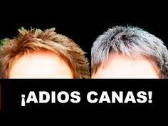 MIRA COMO BORRAR LAS CANAS  ¡¡MEDICOS LO RECETAN!! ¡SIMPLE, NATURAL! - YouTube