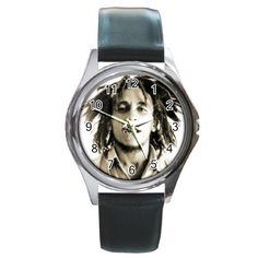 Bob Marley Round Metal Watch