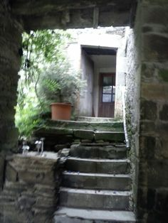 Stairs to 2nd house