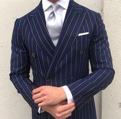 Great stripe suit
