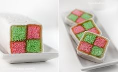 Battenburg Cake  So pretty, would be great for bridal shower or baby shower!
