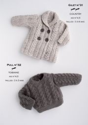 Ravelry: cardigan-Jumper pattern by Cheval Blanc Official free Jumper Knitting Pattern, Baby Knitting Patterns, Knitting Designs, Baby Patterns, Knitting Projects, Knitting Ideas, Knitting For Kids, Crochet For Kids, Free Knitting