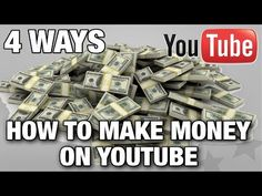 How To Make Money On Youtube | 4 Simple Ways | Animated Video