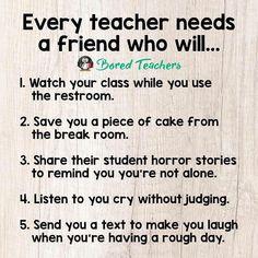 TAG your teacher BFF!