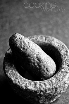 Stone Mortar and Pestle - one of my favourite pieces