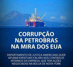 Brasil-Corrupção-2014-Frase-Corrupção na Petrobrás na mira dos EUA