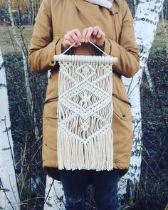 Modern Macrame Wall Нanging, Macrame Home Decor, Macrame Wall Art, Woven Wall Hanging, Macrame Wall Tapestry, Boho, Rustic, Scandinavian by MacrameAngelisay on Etsy