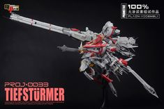 Millennium Project 1/100 PROJ-0033 TIEFSTURMER: Full Photo Review! A Lot Of Images, Assembly Instructions too! http://www.gunjap.net/site/?p=293100