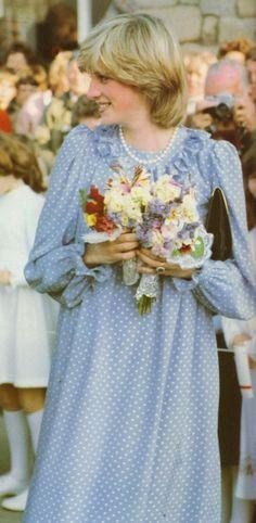 Princess Diana pregnant with Prince William 1982