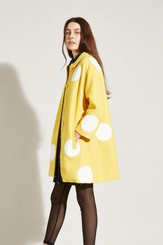 Wool Swing Coat Mustard - THE WHITEPEPPER http://www.thewhitepepper.com/collections/winter-drop-1/products/wool-swing-coat-mustard