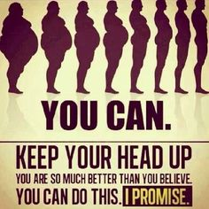A little motivation to keep going! And with the Weight Loss Experts you will have a coach to keep you focused www.weightlossexperts.com